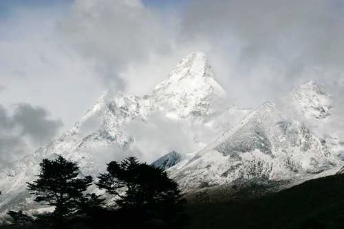 Ama Dablam, seen from...