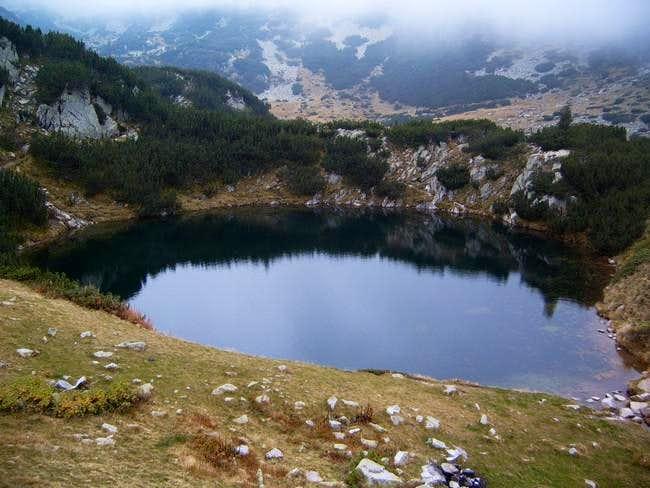 Okoto (The Eye), a small lake...