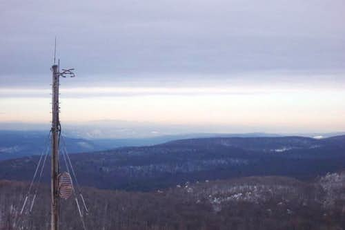 The Catskill Mountains, over...