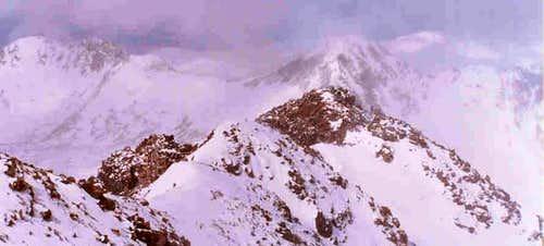 Quandry West ridge in...