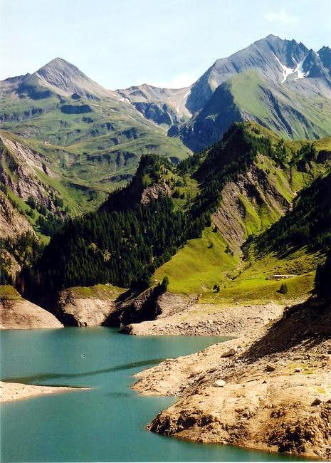 Lago di Luzzone in Summer...
