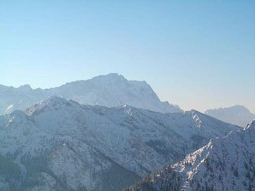 Zugspitze from summit of...