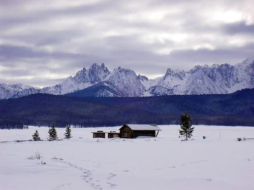 Winter Ranch in Stanley-...