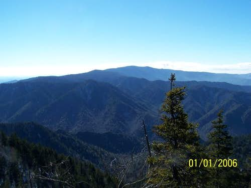 Clingman\'s Dome from Mt....