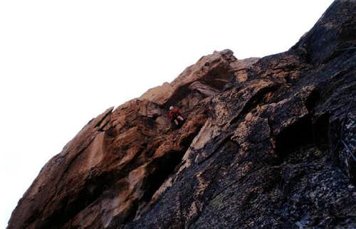 Crux moves on the Arrowhead