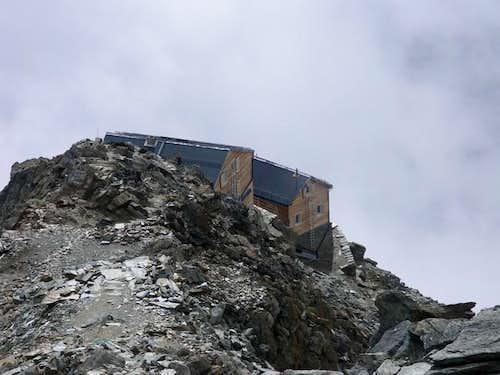 The Mischabelhütte recently...