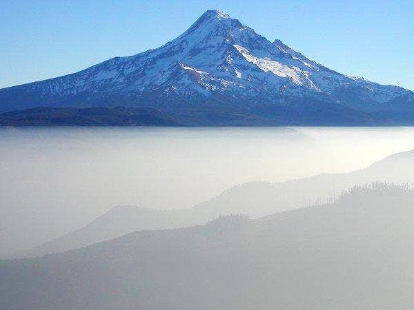 Mt. Hood from the NW on...