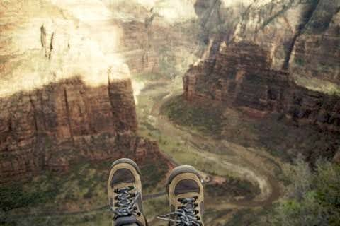 I climbed Angel\'s Landing on...