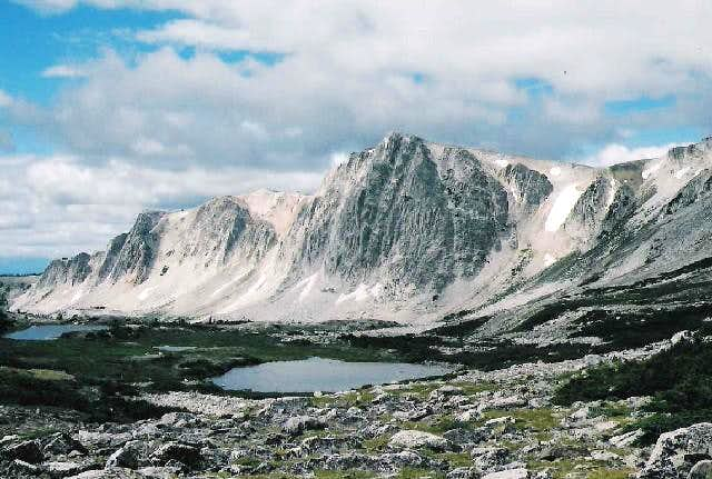 Medicine Bow Peak View