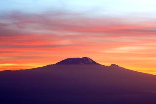 Kilimanjaro from Rhino Point,...