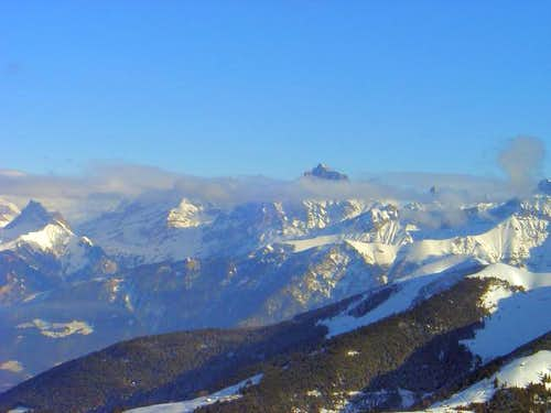 Grand Muveran seen from Val...