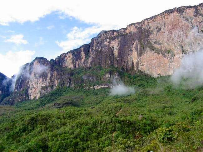 Monte Roraima final ramp....