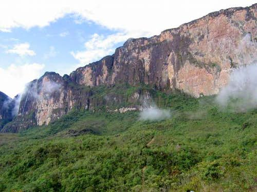 Monte Roraima final ramp....