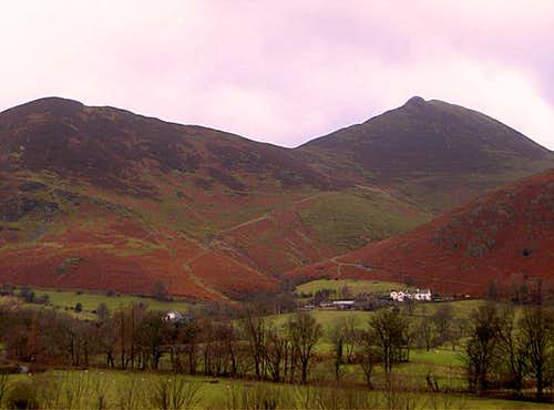 Causey Pike from Newlands