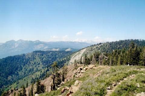 View looking north from Jordan Peak