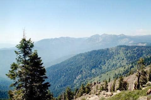 Looking northwest from Jordan Peak