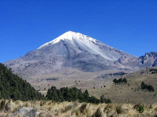 Pico de Orizaba, from cueva...