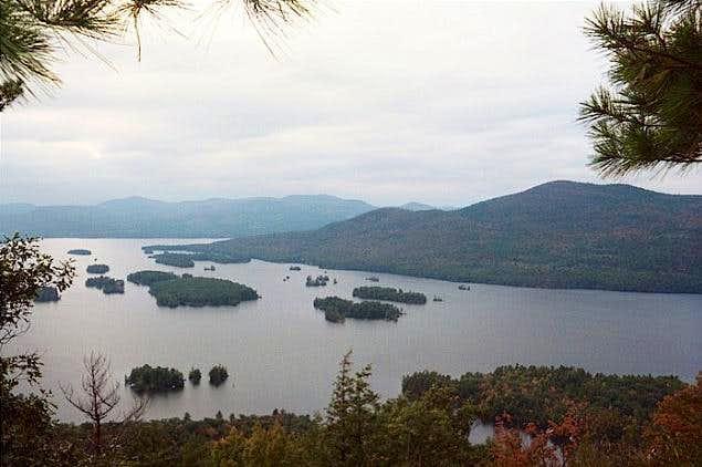 Lake George & the islands...