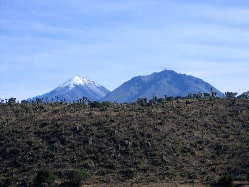 Pico de Orizaba and Sierra...