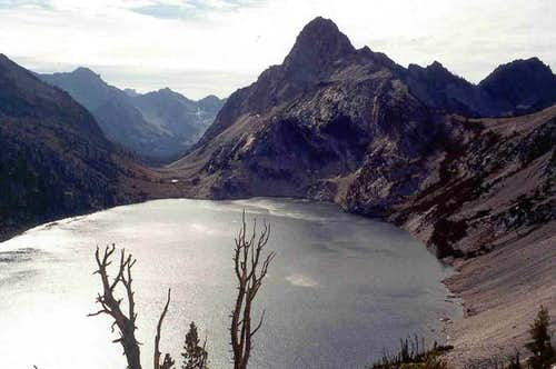 Sawtooth Lake and Regan from...