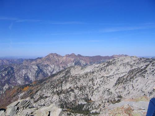 Wasatch Front Twin Peaks...
