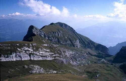 Sagzahn (2228 m) and Vorderes...
