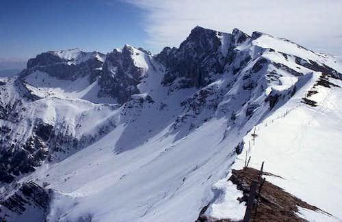 Rofan in Winter, view from...