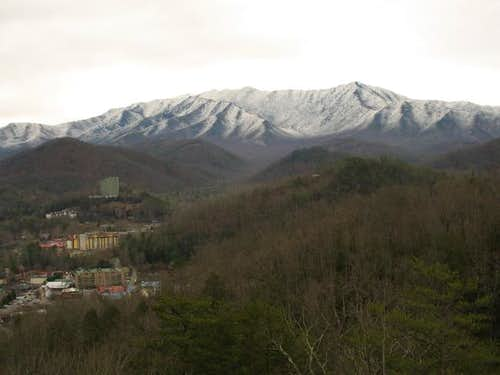 Mt. LeConte towers nearly a...