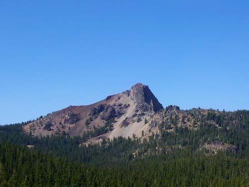View of cowhorn mountain from...