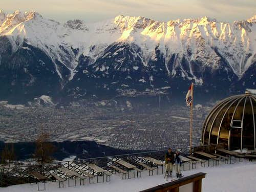 The view on Innsbruck from...