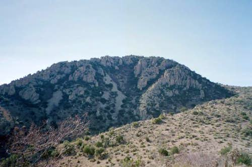 A view of Gray Mountain in...