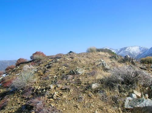 Iron Mountain summit after a...