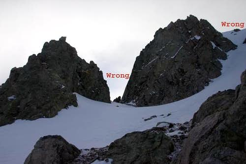 Wrong Couloir for Shepherd's...
