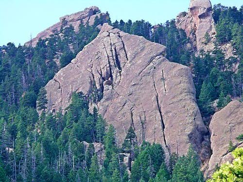 The Fifth Flatiron from the Mesa Trail