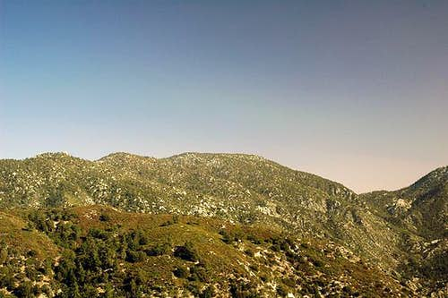 Mount Waterman from the west,...