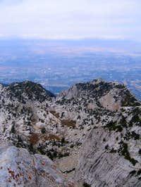 Cirque 600 ft. below Lone...