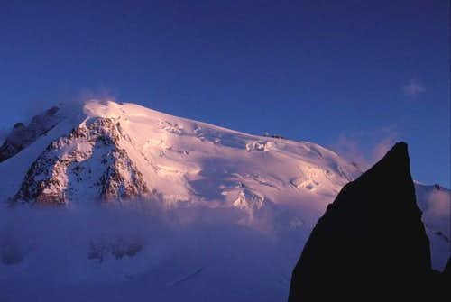 Sunset on the Mont-Blanc du...