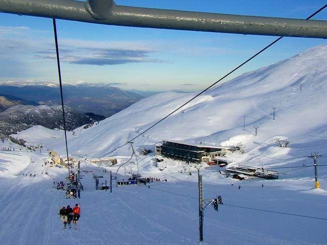 The main ski resort of...