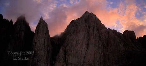 Mt. Whitney and Keeler Needle...