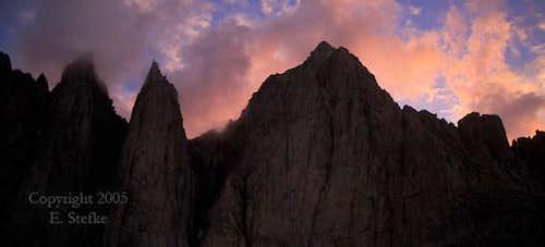 Mt. Whitney and Keeler Needle...