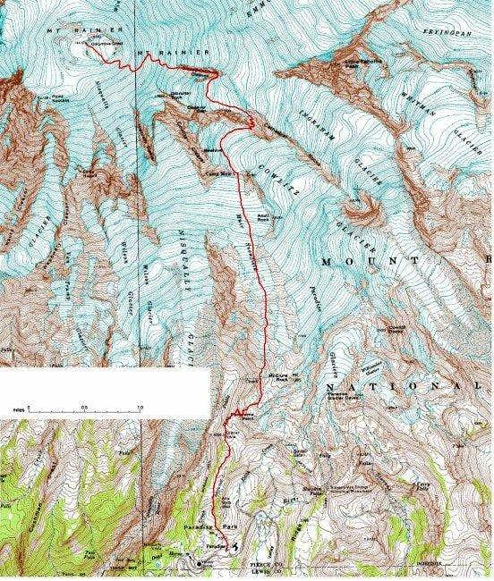 Cleaver 2001: Disappointment Cleaver Route... : Photos, Diagrams & Topos
