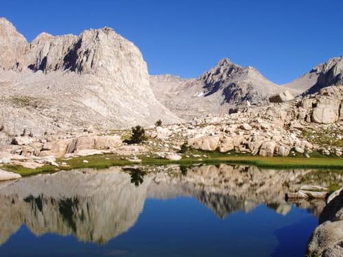 Mt. McAdie from Miter Basin