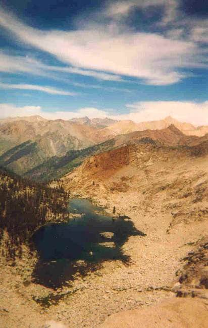 Eagle Lake, Sawtooth, and Mineral Peak