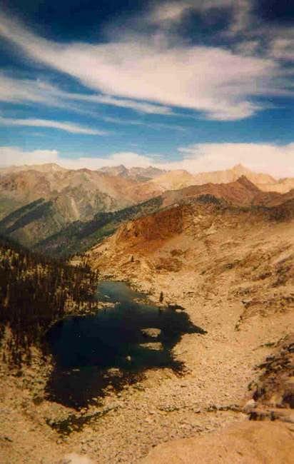 Eagle Lake, Sawtooth, and Mineral Peak