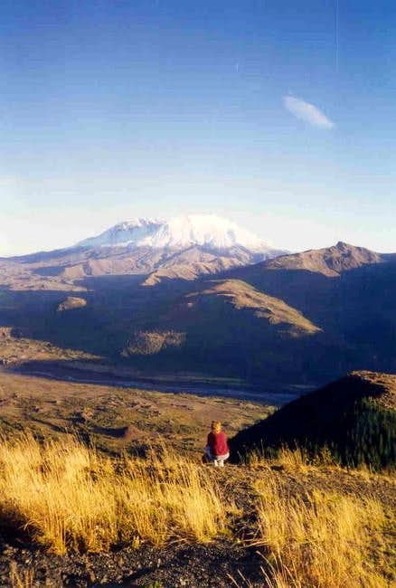 Mt. Saint Helens viewed from...