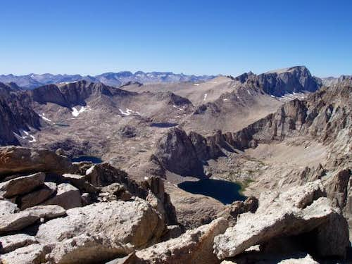 Mt. Whitney is on the far...