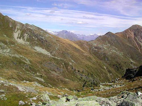 The saddle of Colle Citrin <i>2482m</i>
