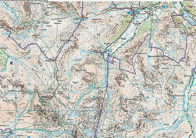 Borrowdale-The Esk Hause Route