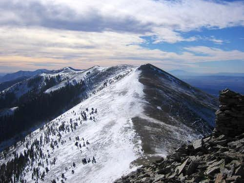 Mt. Ellen\'s North ridge from...