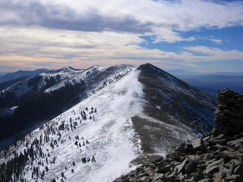 Mt. Ellen's North ridge from...